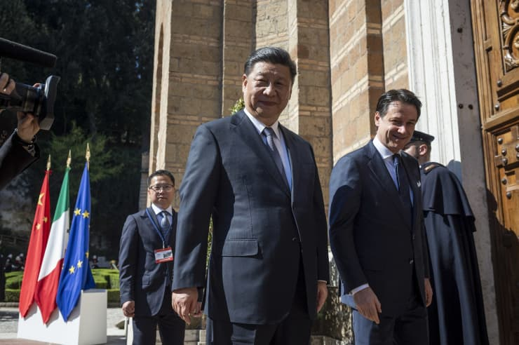 GP : China's President Xi Meets Prime Minister Giuseppe Conte 190712