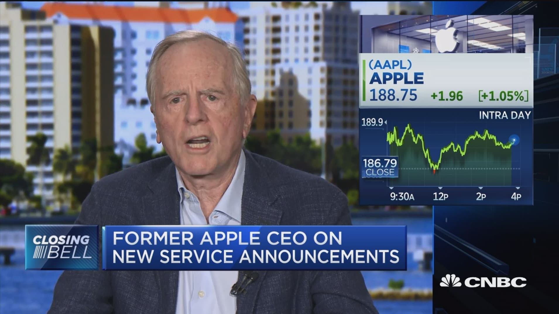 Apple can see incredible profits from its move into health tech: Former CEO John Sculley
