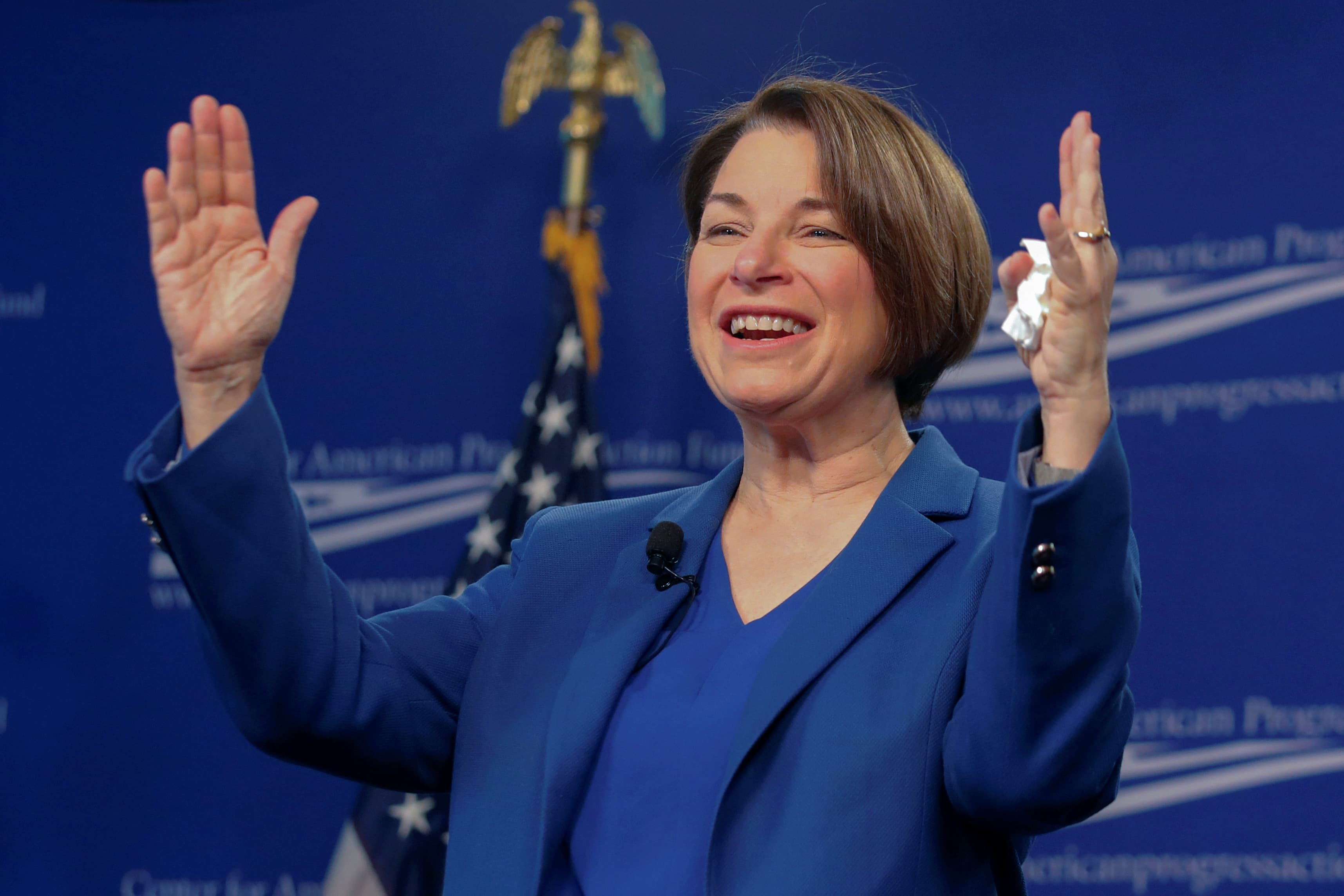 Best Infrastructure Stocks 2020 Amy Klobuchar proposes infrastructure plan in 2020 challenge to Trump