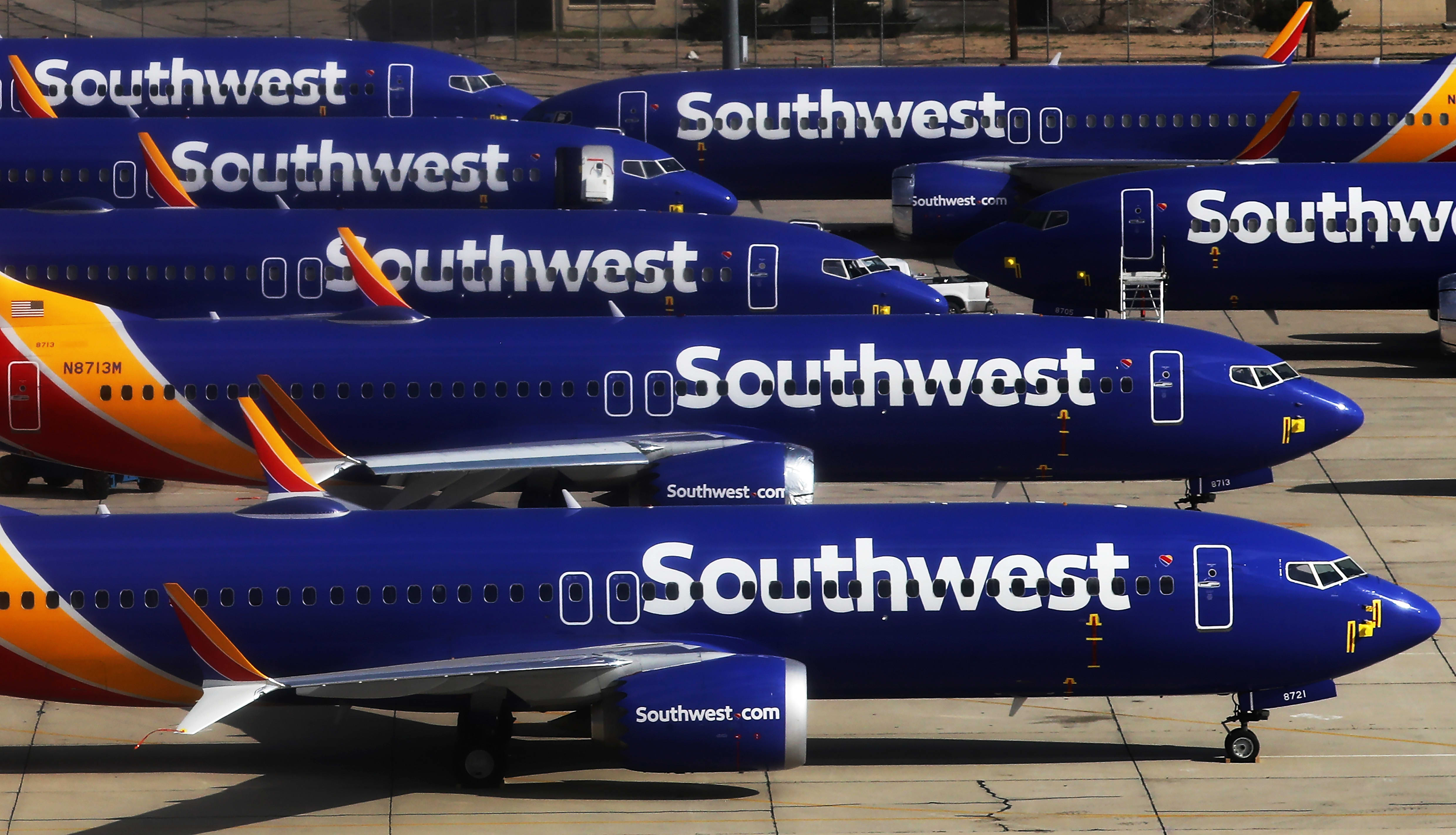 Southwest yanks Boeing 737 Max from schedules through early November with no return in sight