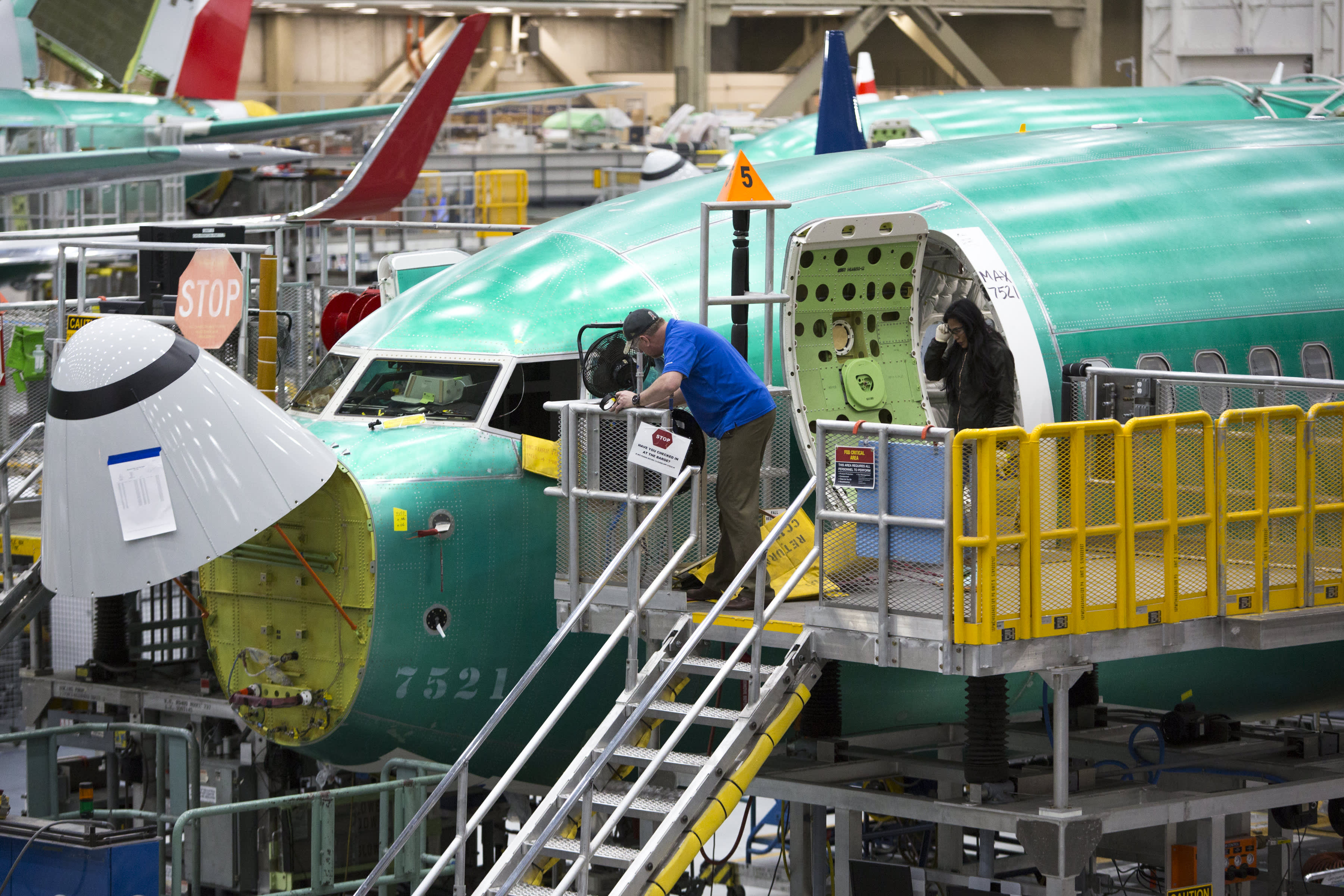 Boeing will still burn $1 billion a month on 737 Max even with production halt, JP Morgan says