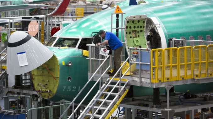 GP: Boeing 737 Max in production