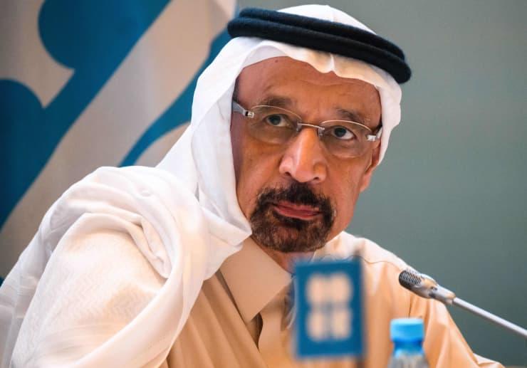 GP: OPEC Saudi Arabia Khalid al-Falih 190329 EU