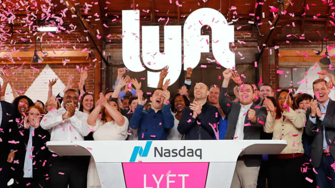 Lyft Stock Price >> Lyft Stock Jumps After Report It Sees Profitability Year