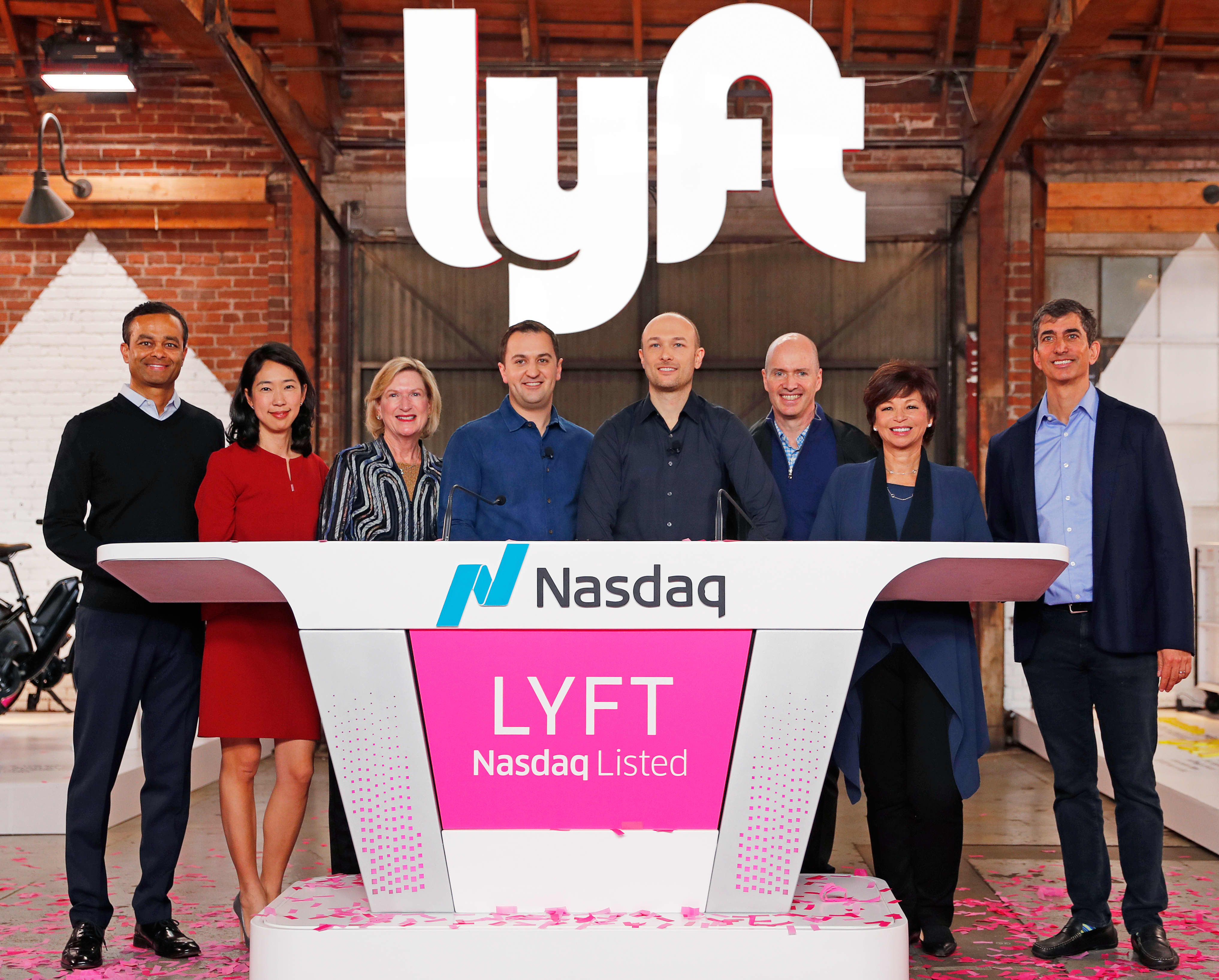 Analysts are encouraged Lyft insiders aren't dumping stock at their first chance since the IPO