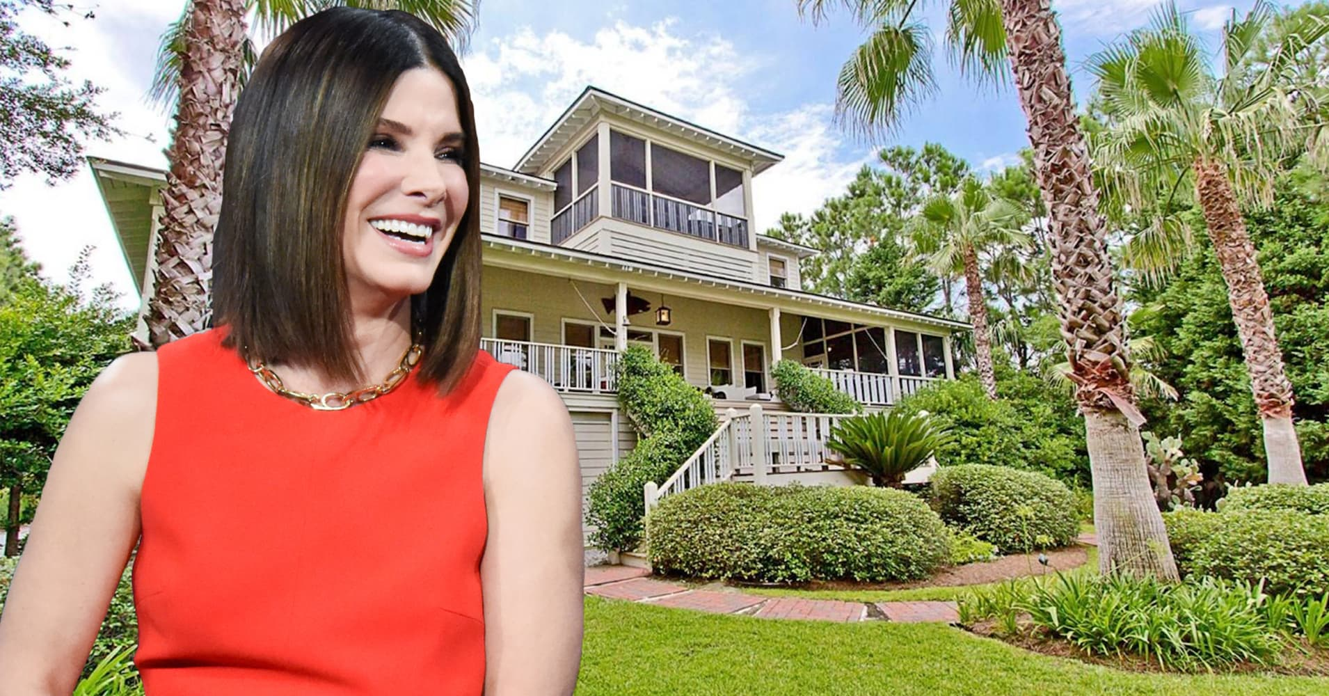 Photos: Sandra Bullock's Georgia beach house for sale