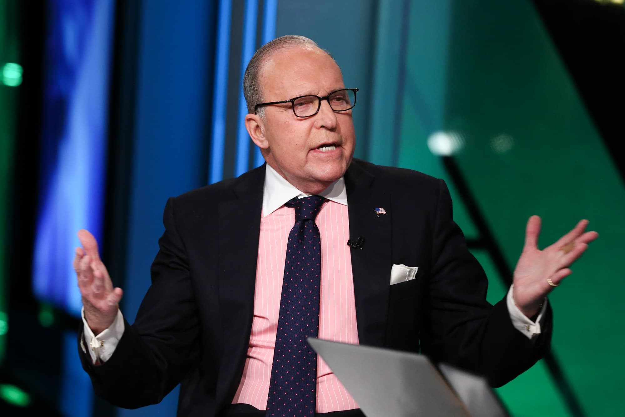 Larry Kudlow: 'I don't think the underlying economy is slowing'