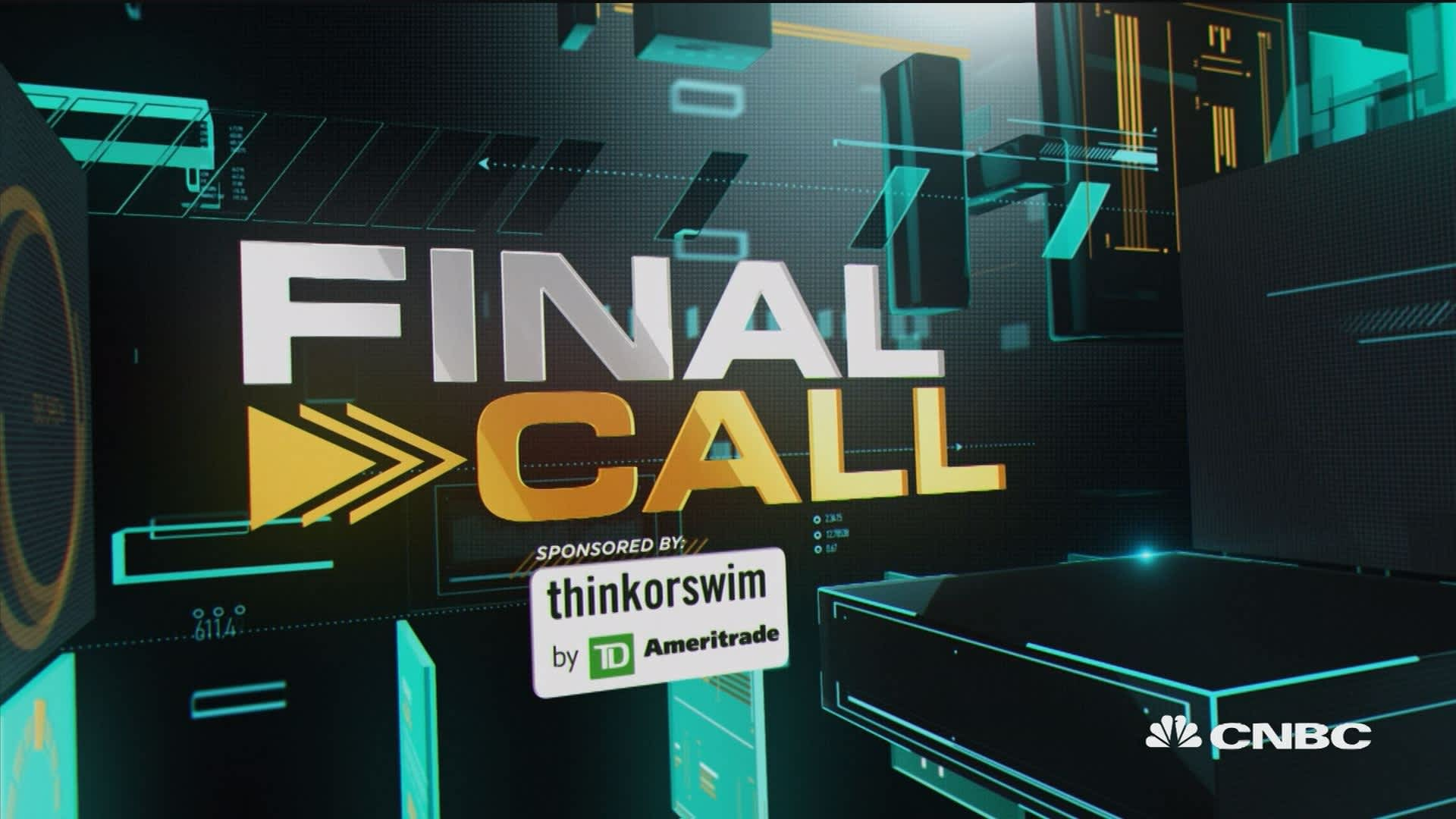 Final Call: MMM, CMG & XRT