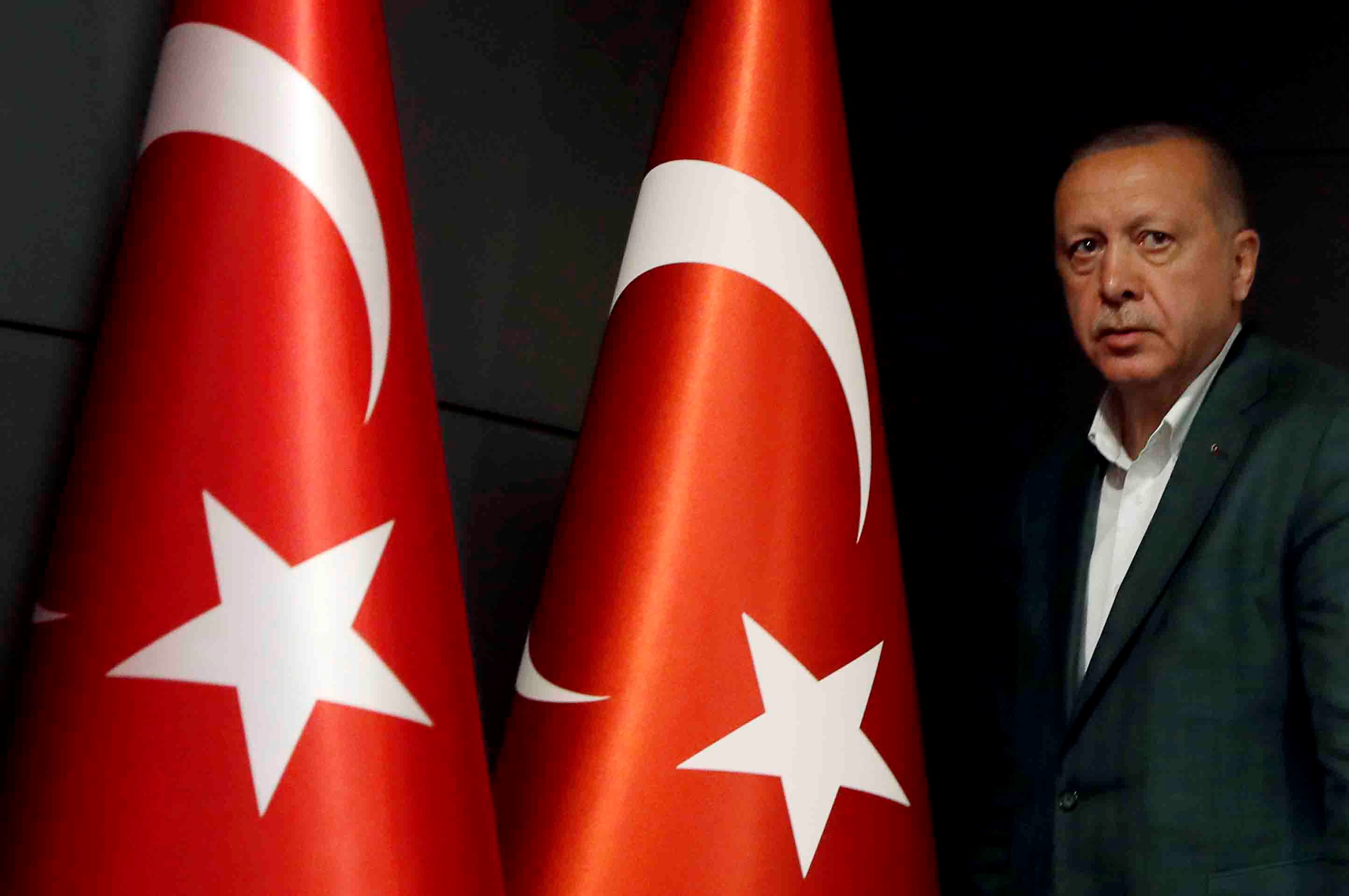 Turkey's Erdogan threatens to release millions of refugees into Europe over criticism of Syria offensive