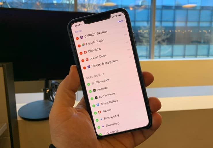 CNBC Tech: iPhone Widgets 1