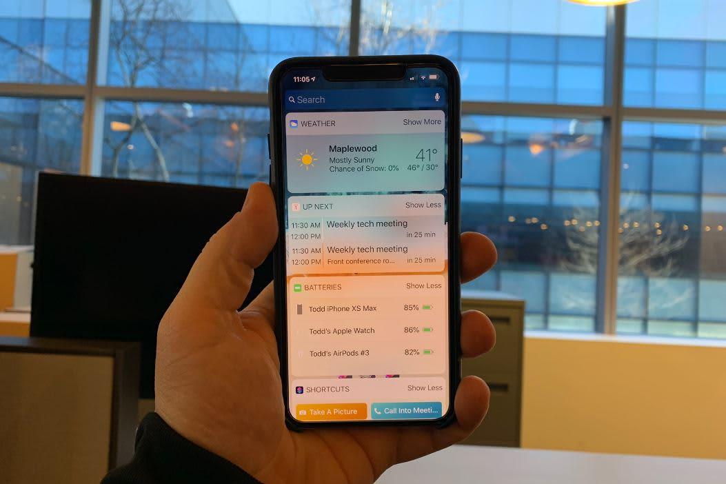 CNBC Tech: iPhone Widgets 2
