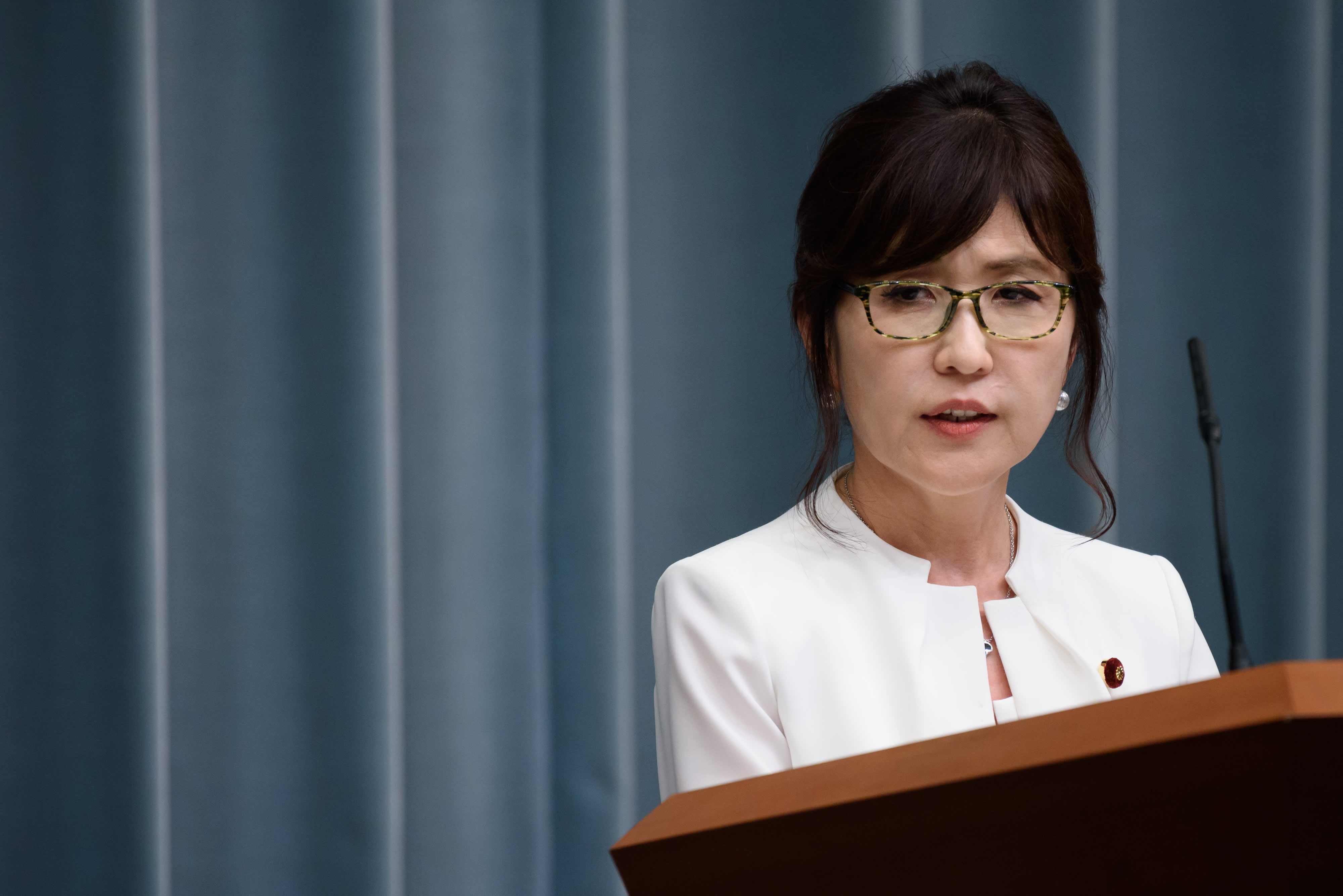 Japanese lawmaker Tomomi Inada has ambitions to be the country's next prime minister.