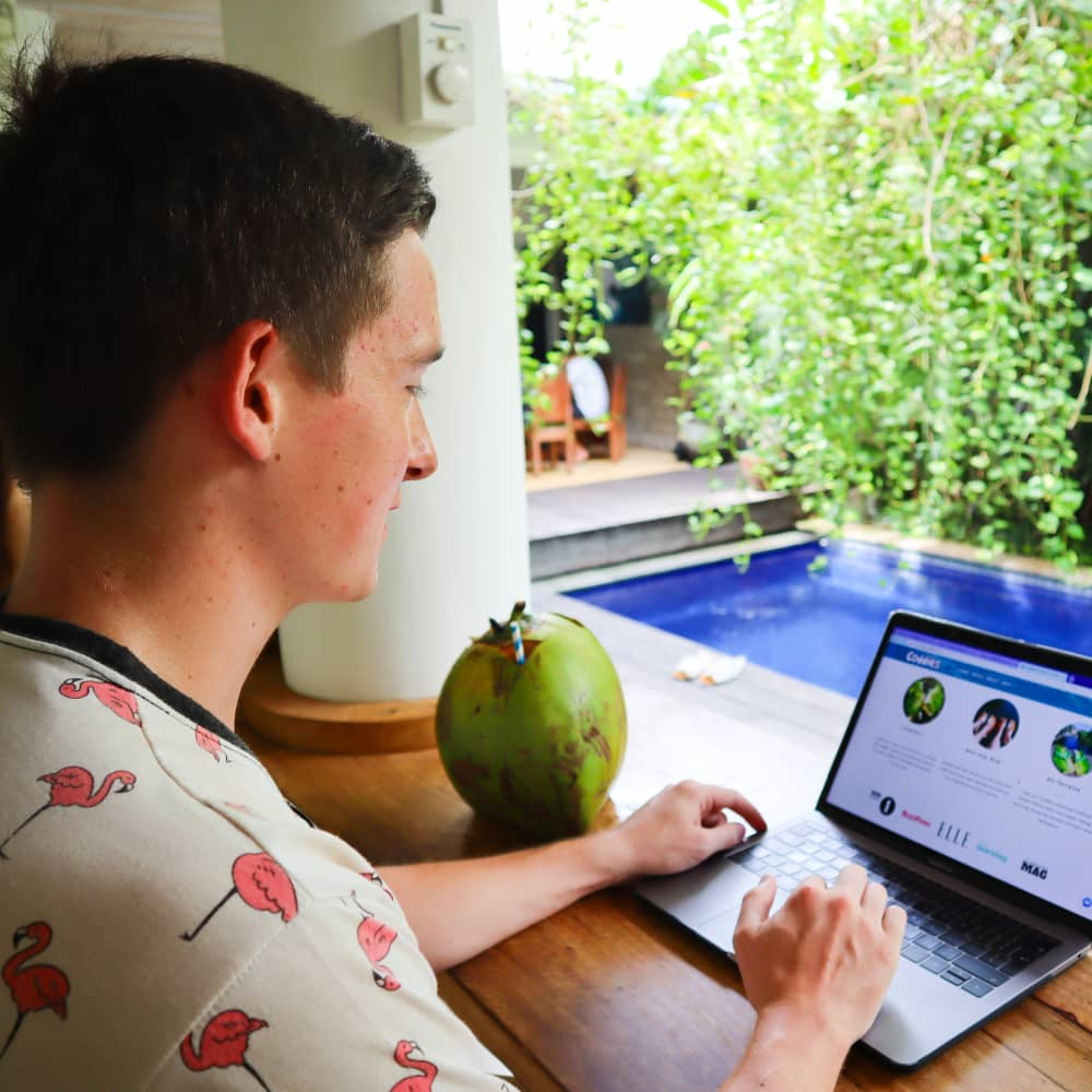 This 24-year-old saved $4,000 by escaping the UK's winter to work remotely