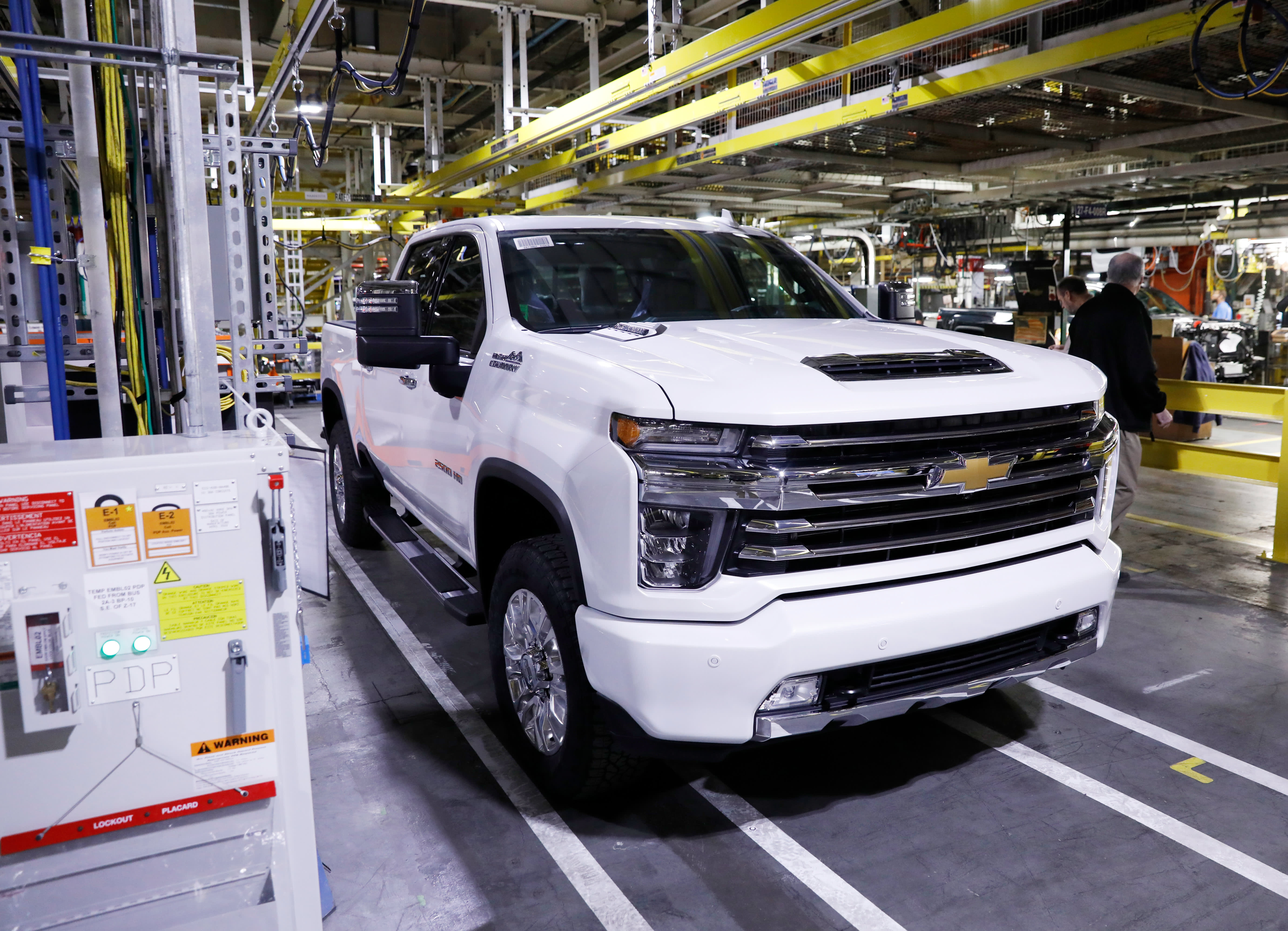 GM recalls over 3.4 million pickups and SUVs to fix brake issues