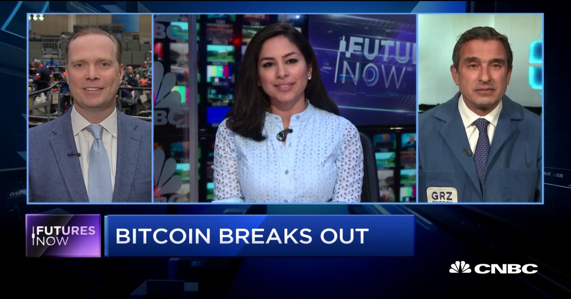 Futures Now: Bitcoin sees a breakout