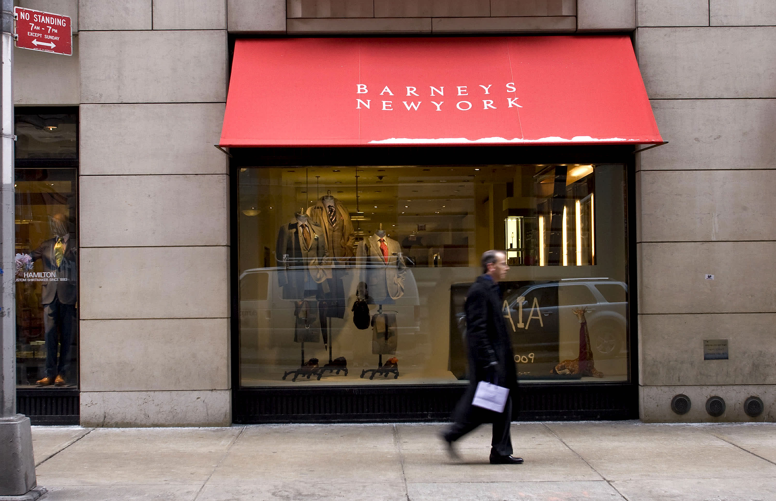 Barneys New York to file for bankruptcy as soon as Monday as it nears loan deal