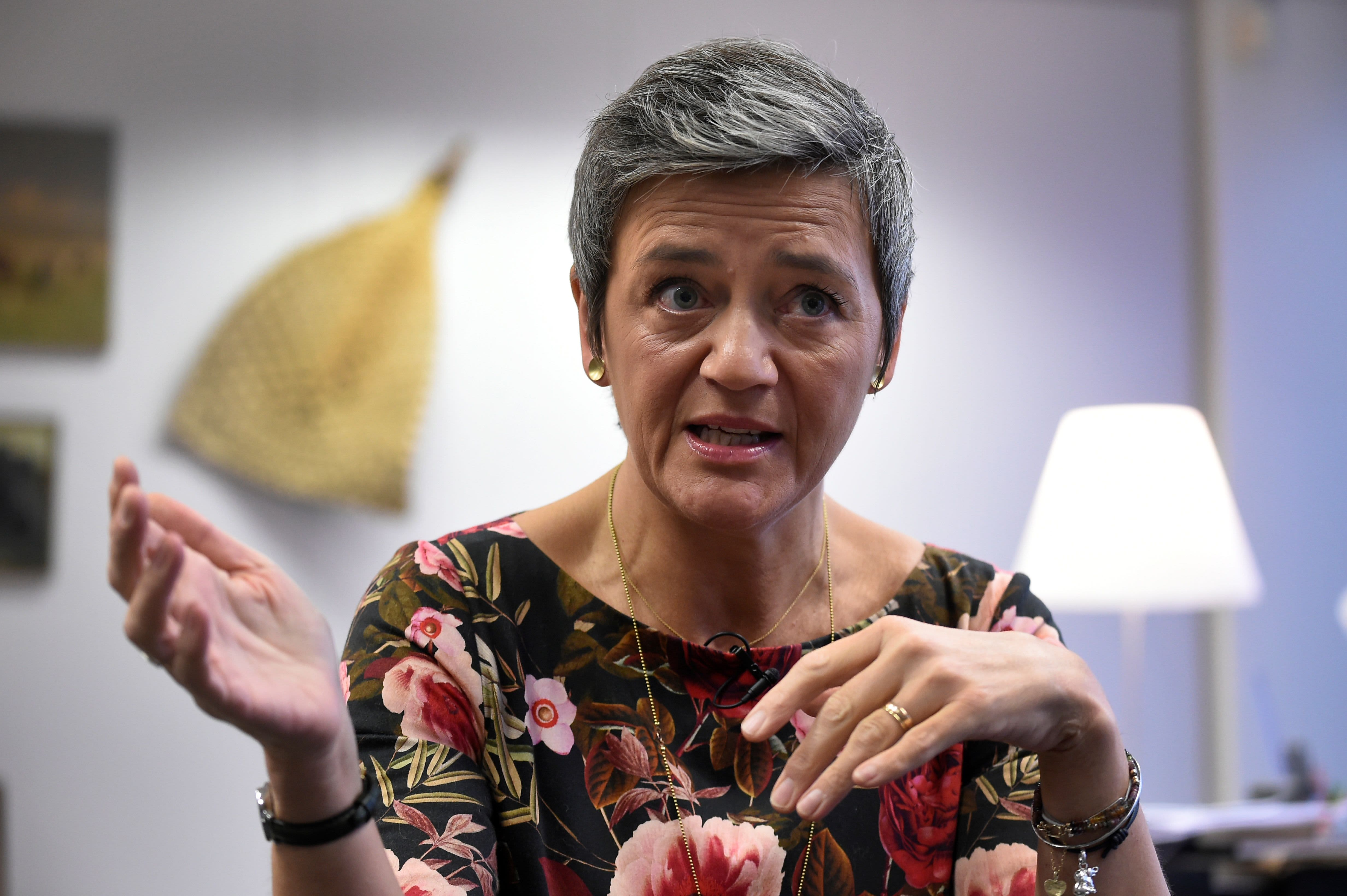 EU urged to investigate Apple Pay on competition concerns, Vestager says