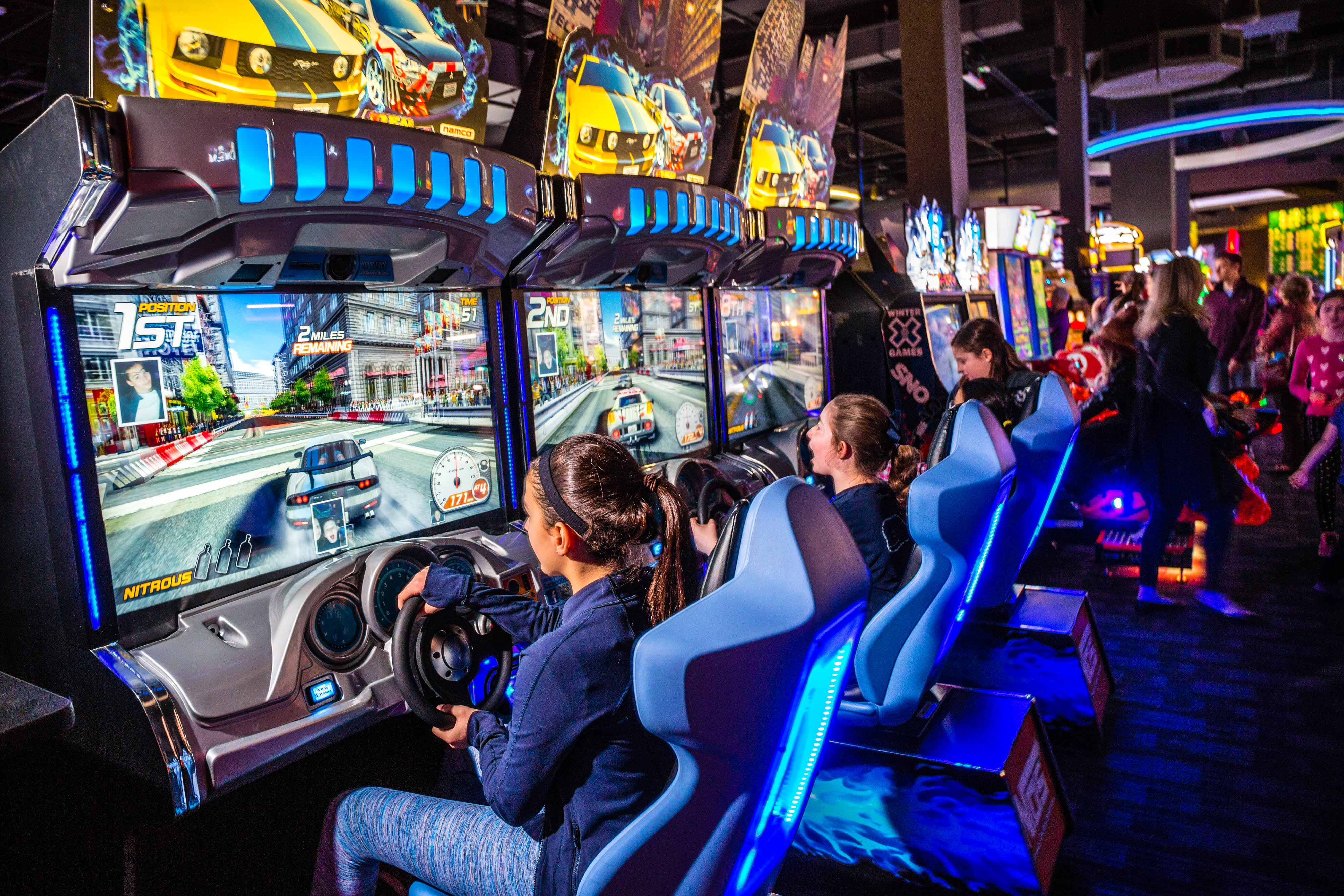 Dave & Buster's shares jump as revamped menu, new games boost strong same-store sales growth