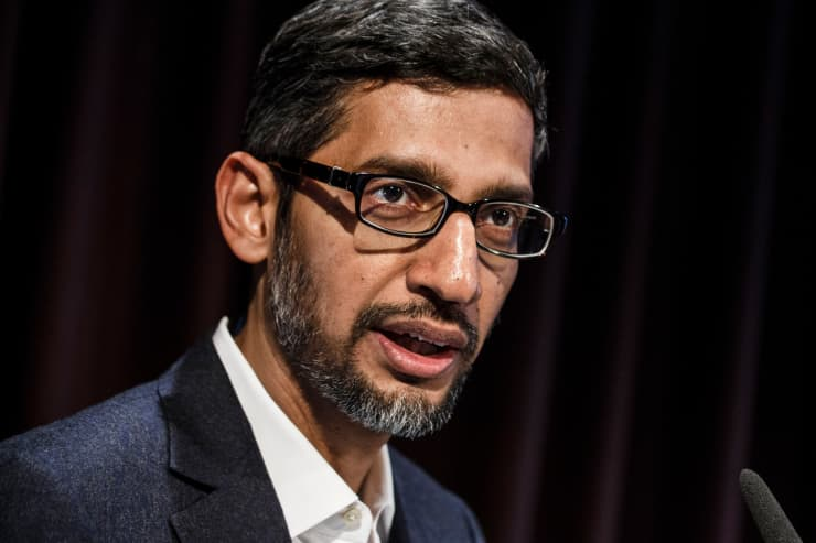 GP: Alphabet Sundar Pichai Google Germany 190122
