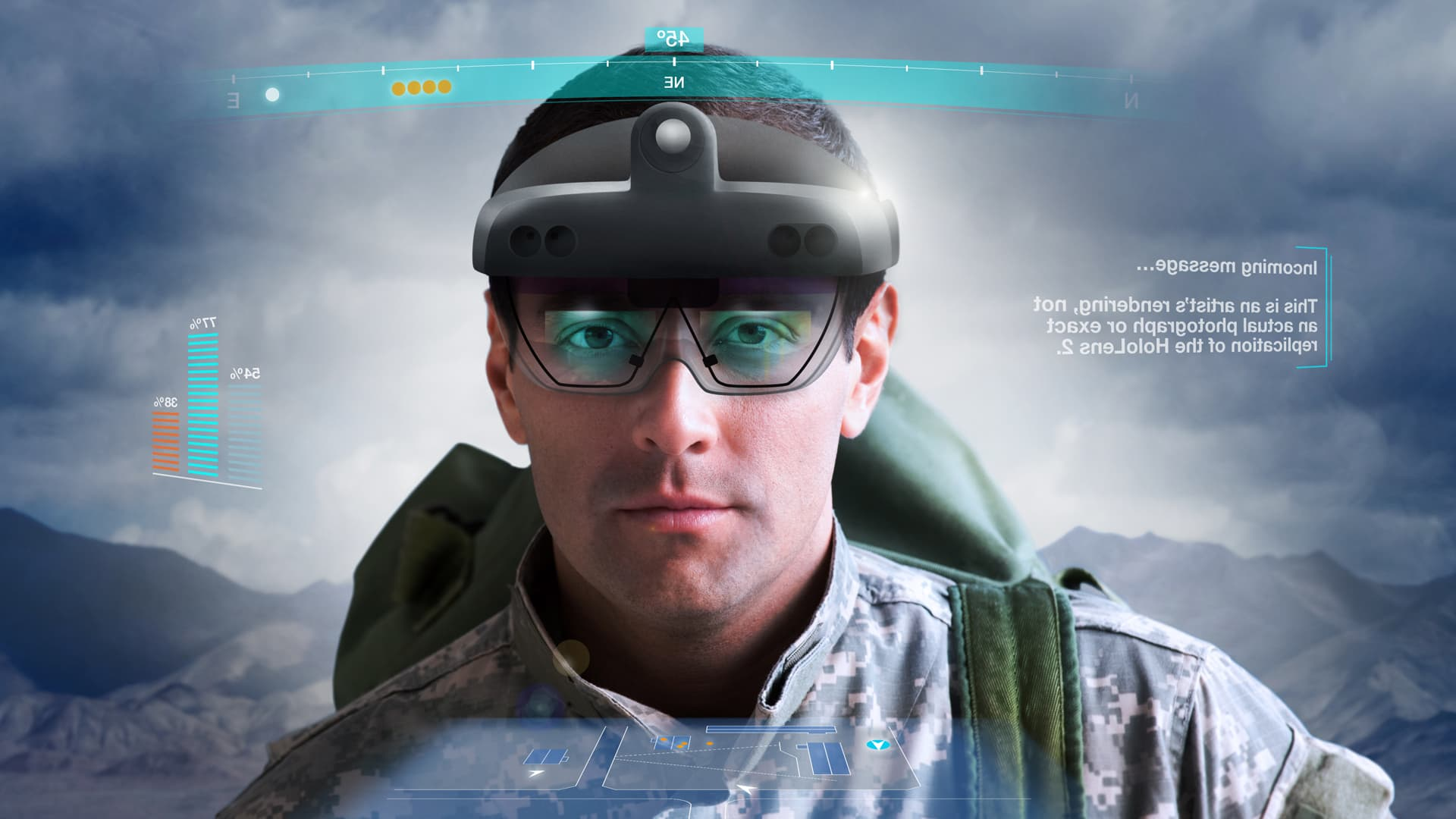 Here's how Microsoft's augmented reality headset will make Army soldiers deadlier