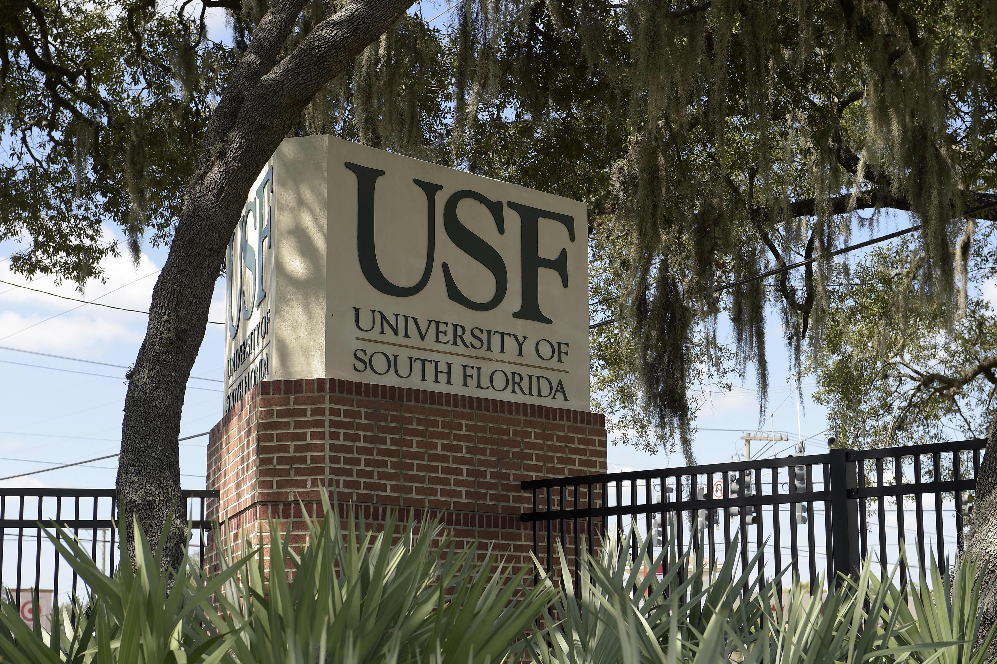 GP: University of South Florida signage