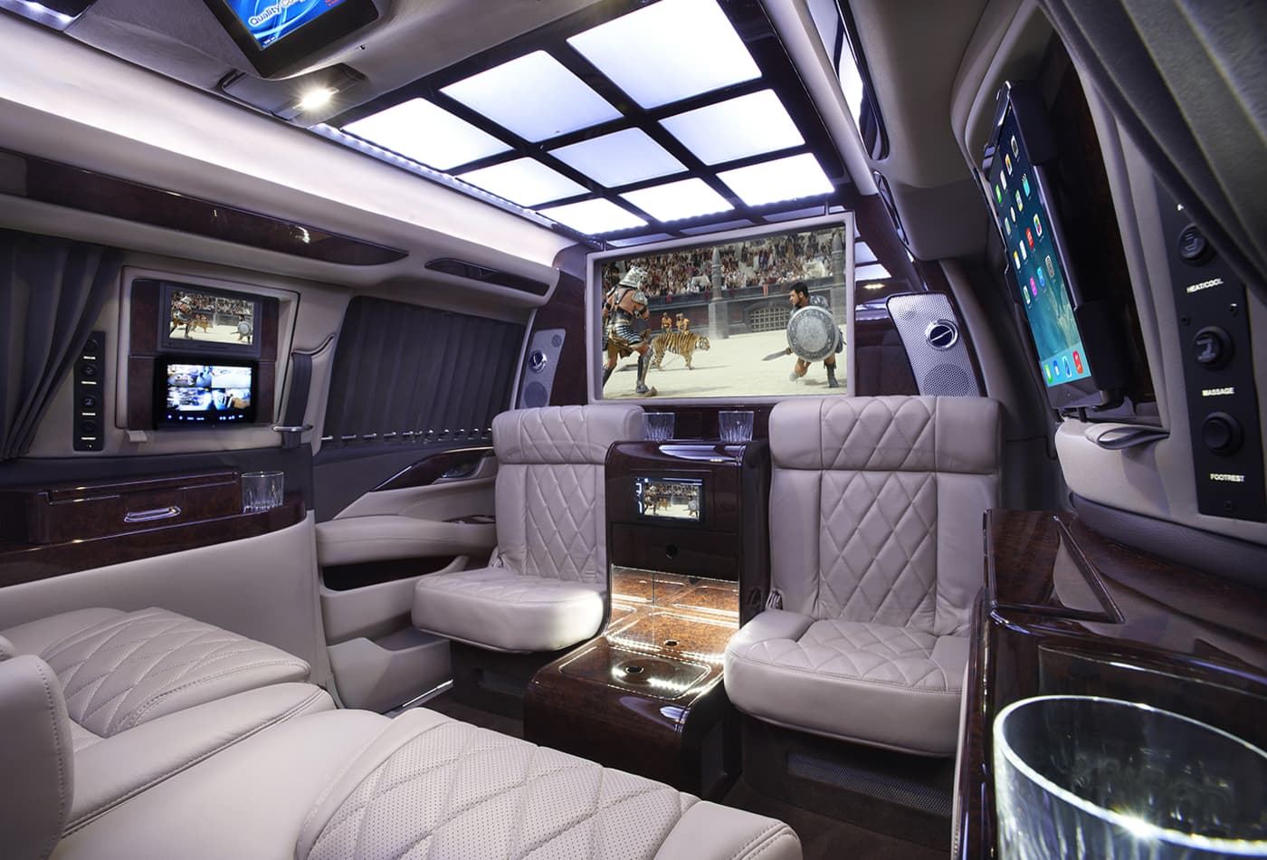 Photos: $350,000 bulletproof Cadillac Escalade