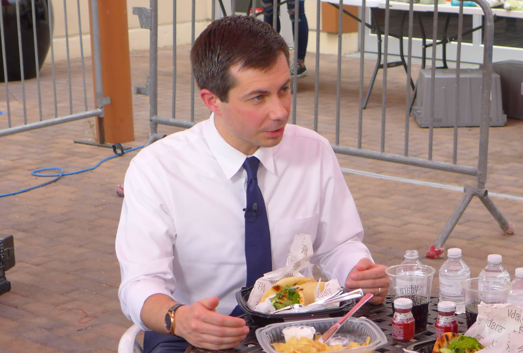 Democratic 2020 hopeful Pete Buttigieg on Trump: 'I think the government's been in some kind of crisis ever since this president arrived'