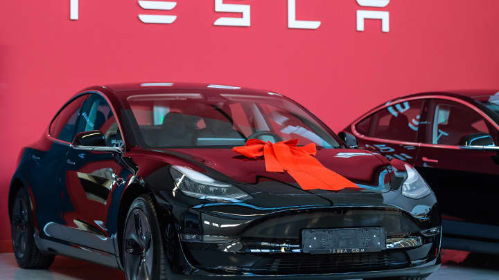 Tesla shares jump as lawmakers begin push to expand EV tax