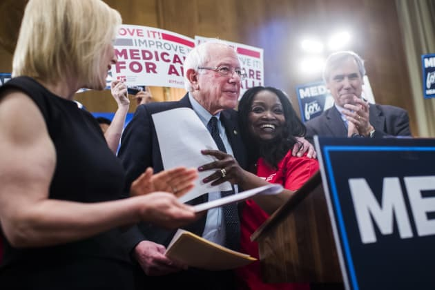New Healthcare Bill 2020 Bernie Sanders unveils Medicare for All bill amid 2020 Democratic