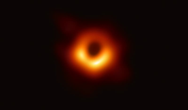 Here's the first-ever photo of a black hole