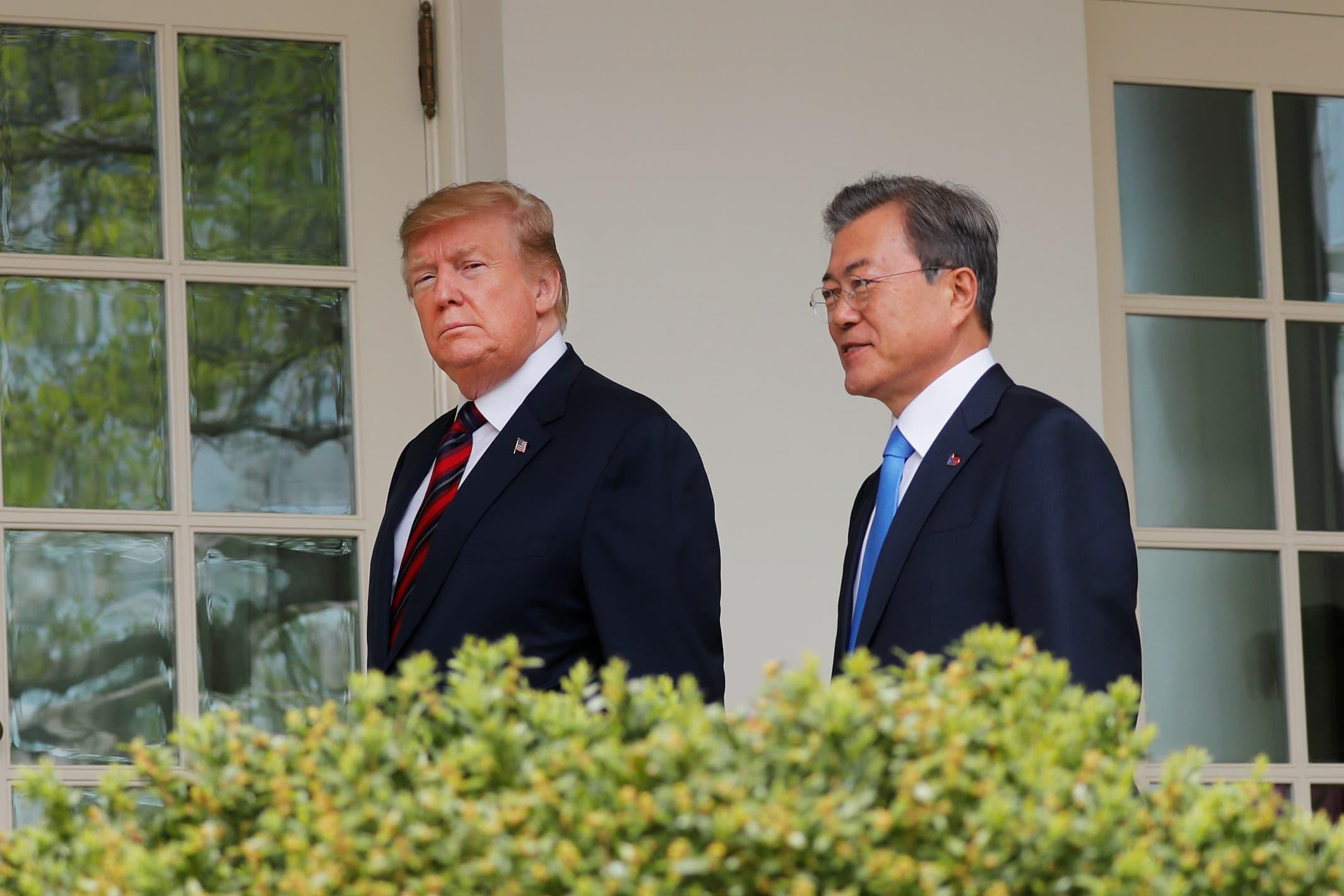 Trump to meet with South Korean leader Moon Jae-in amid stalled North Korea nuclear talks