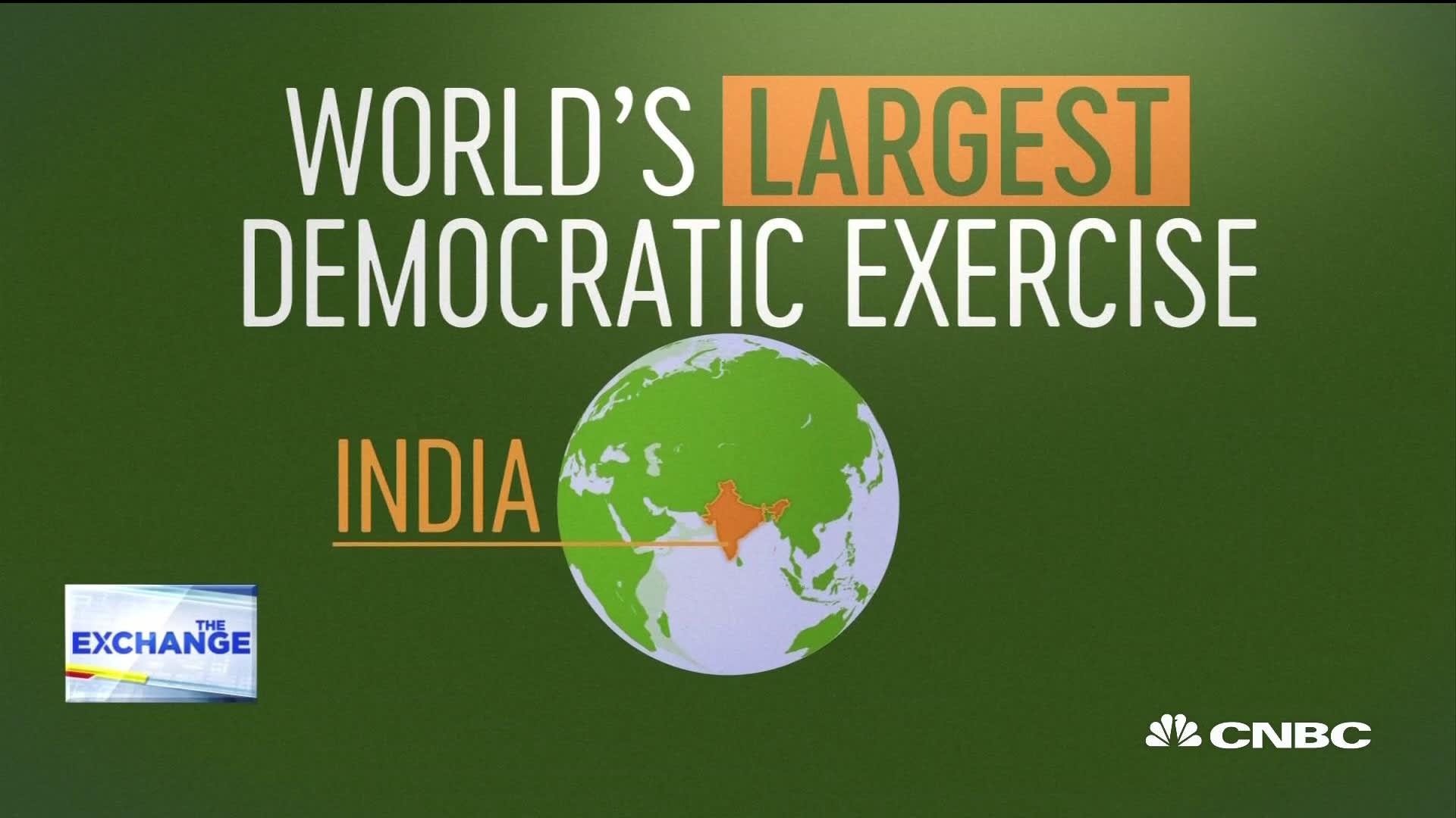 900 million eligible voters make India's election world's largest  democratic exercise