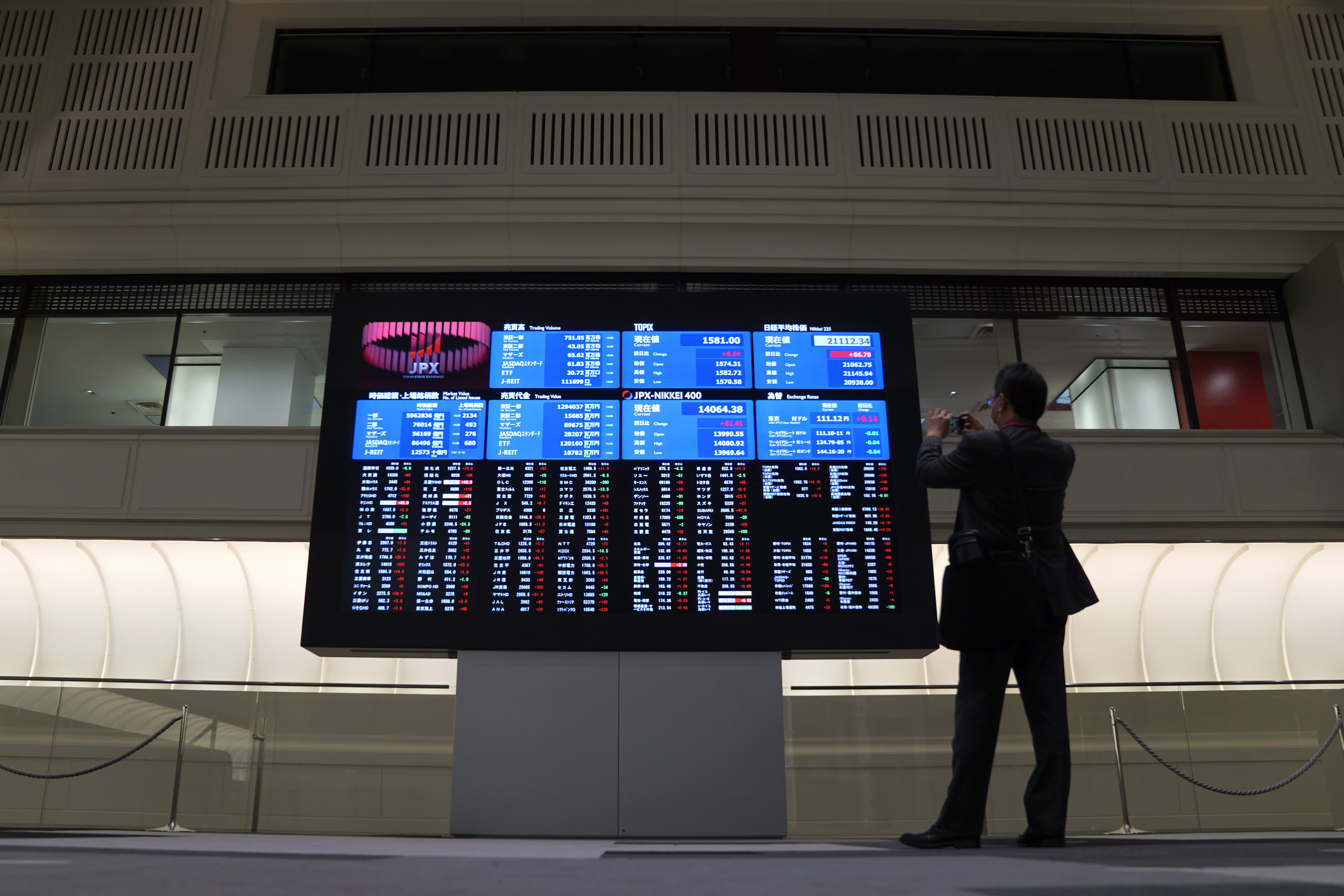 Japan stocks jump as S&P 500 surges to record high despite virus fears