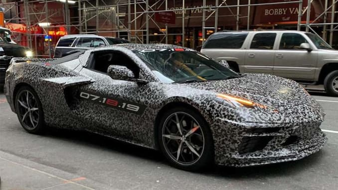 Gm Hints At 2020 Chevy Corvette C8 To Take On Luxury Sports Car Market