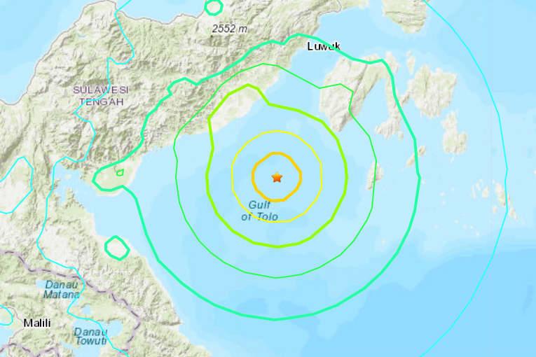 Indonesia lifts tsunami warning after magnitude 6.8 quake off Sulawesi