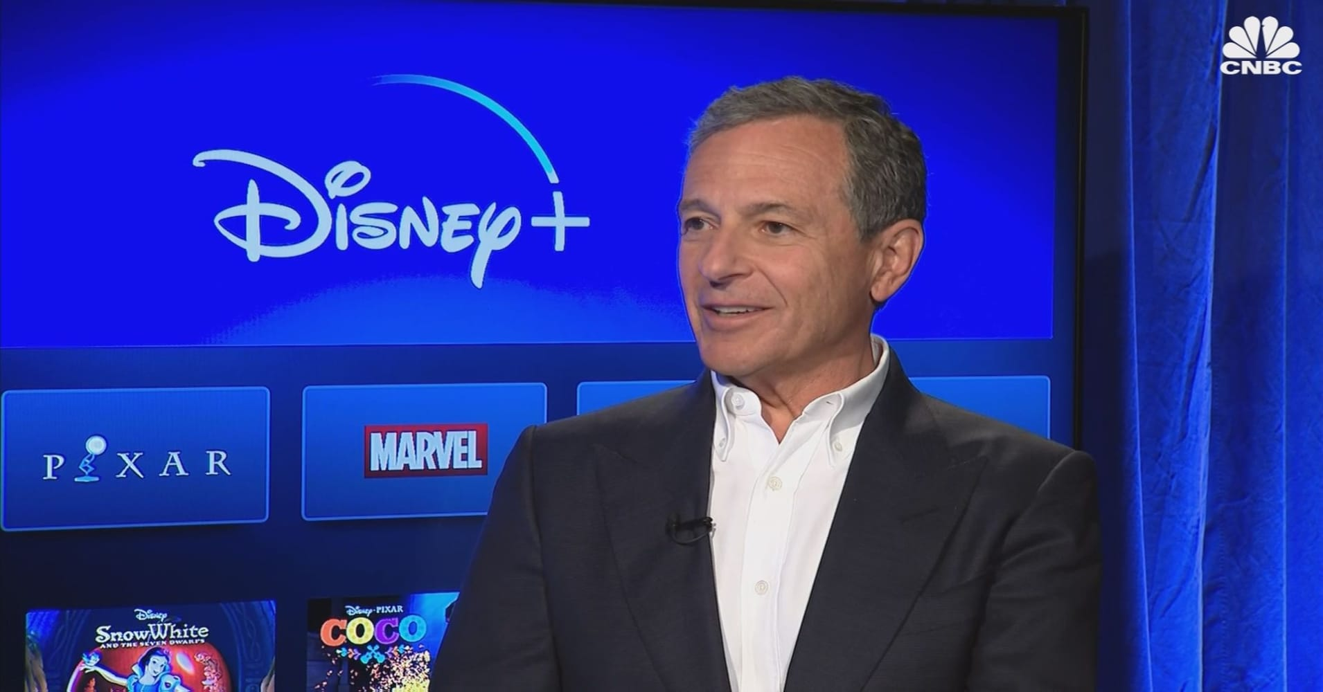 Iger's statement to CNBC
