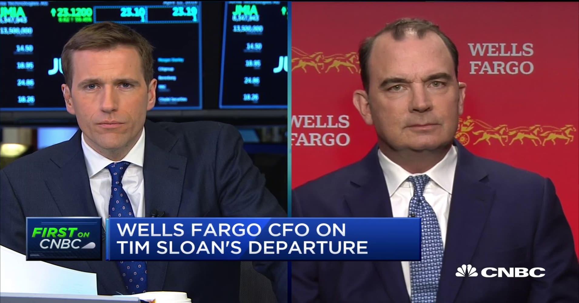 Watch CNBC's full interview with Wells Fargo CFO John Shrewsberry