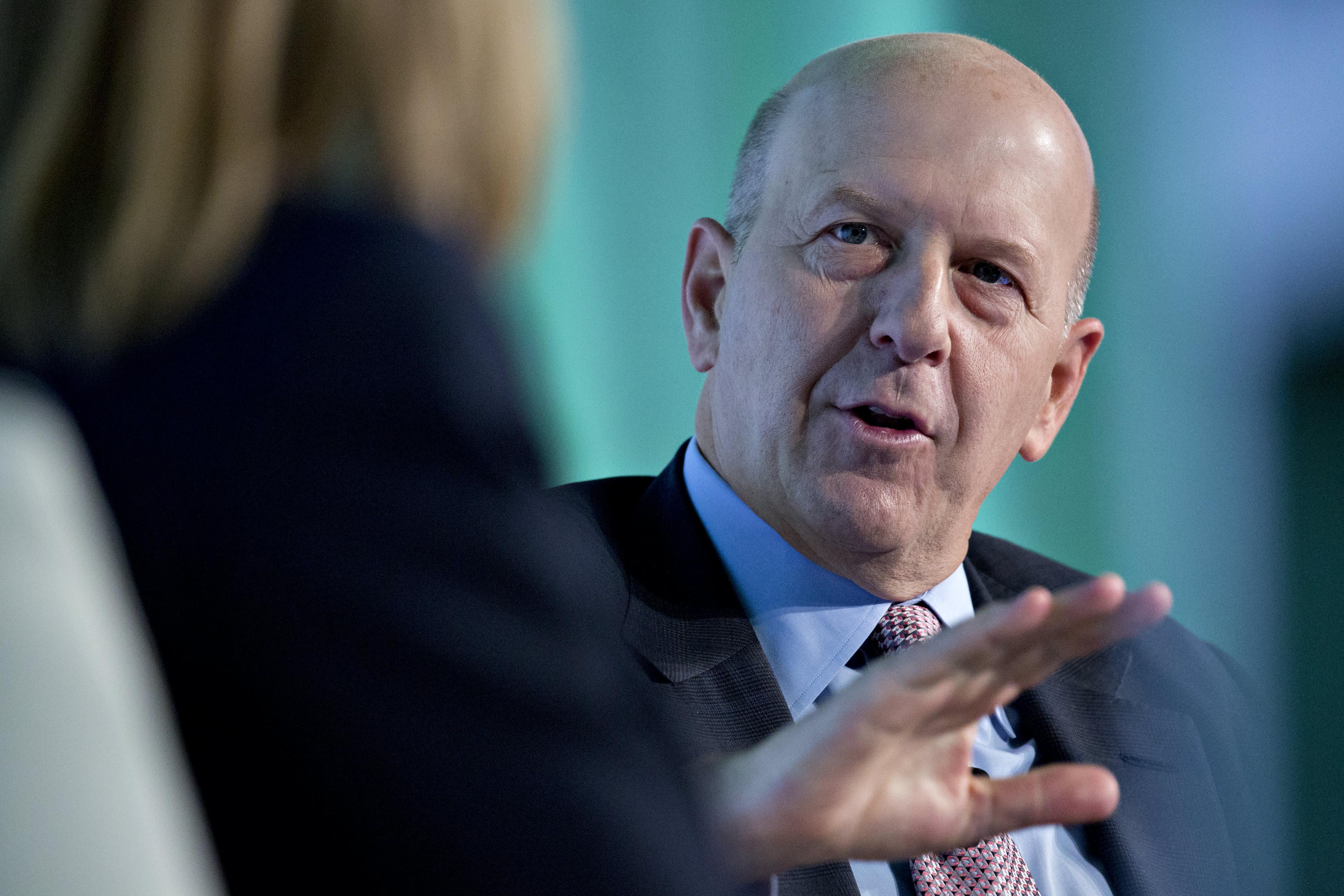 GP: David Solomon, Goldman Sachs 171024