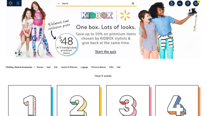 Walmart launches its first subscription box for apparel with