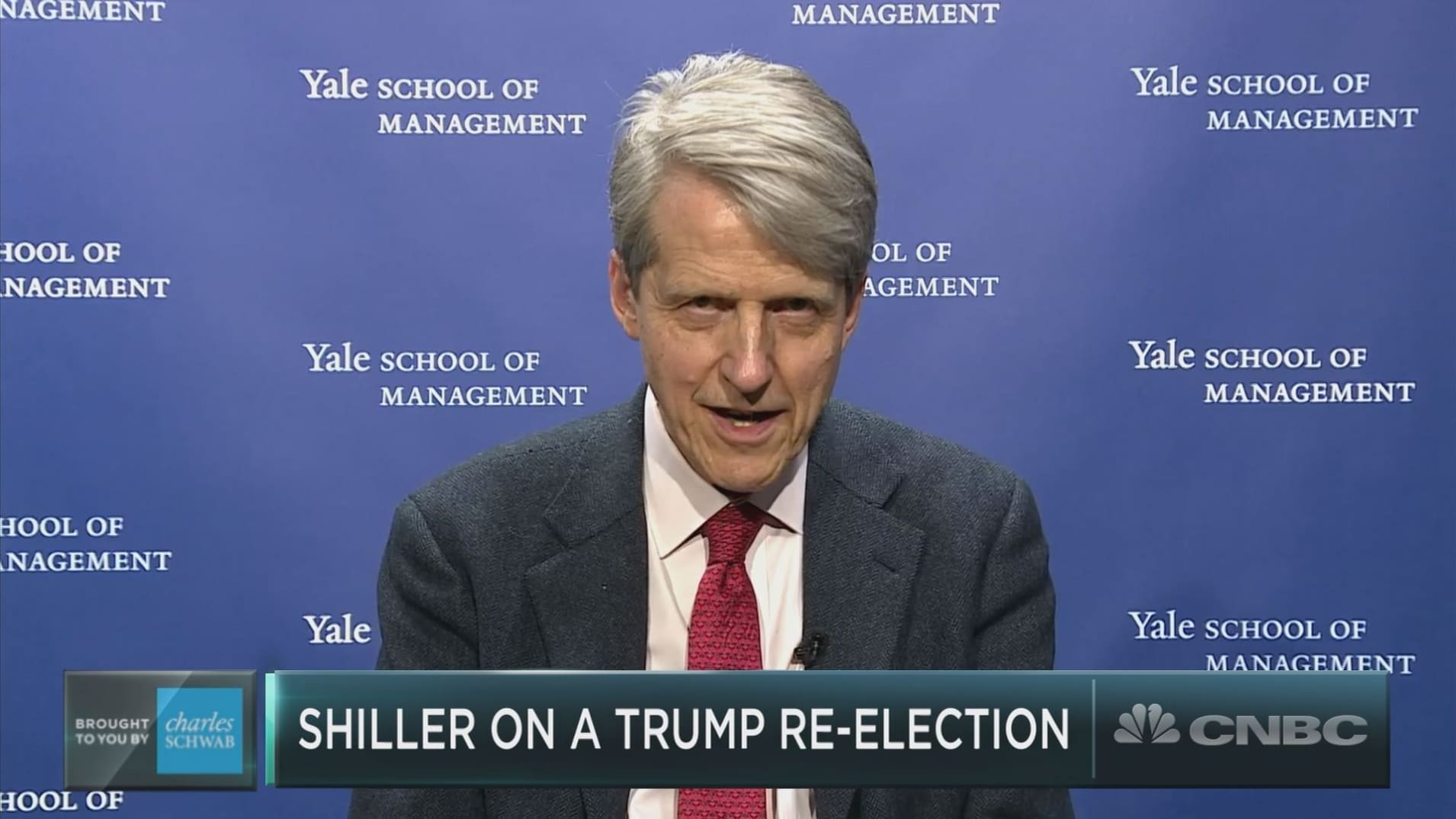 A President Trump re-election win would help boost stock prices and delay a recession: Nobel Prize winner Robert Shiller