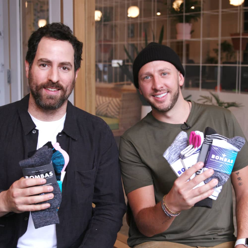 Daymond John-backed start-up Bombas is reinventing the sock—and it's bringing in $100 million a year