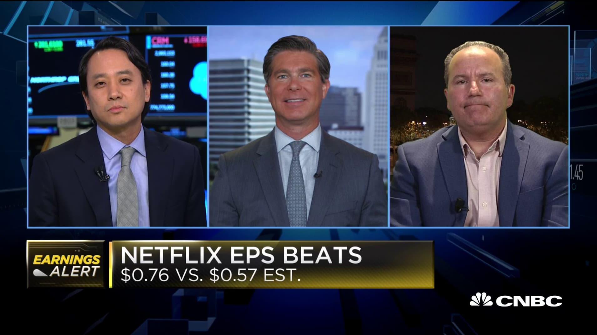 Netflix's low guidance a strategic move, says Ross Gerber