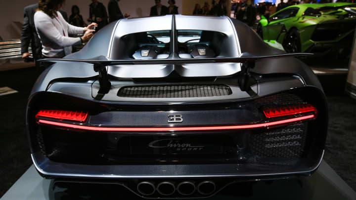 Bugatti Marks 110 Year Anniversary With 110 Ans Bugatti Hypercar