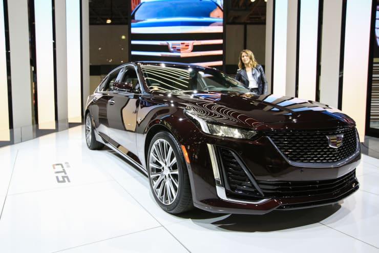 CNBC: 2019 NYIAS: Cadillac CT5 3
