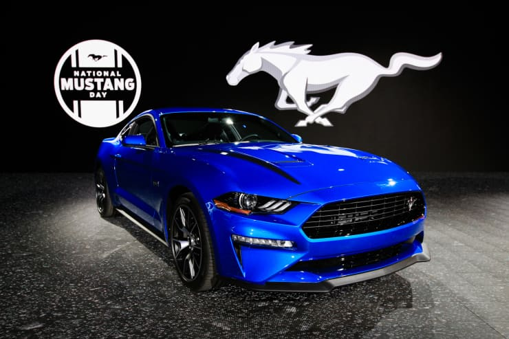 CNBC: 2019 NYIAS: 2020 Ford Mustang 2