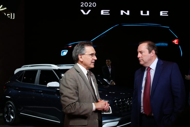 CNBC: 2019 NYIAS: Hyundai COO Brian Smith Phil Lebeau