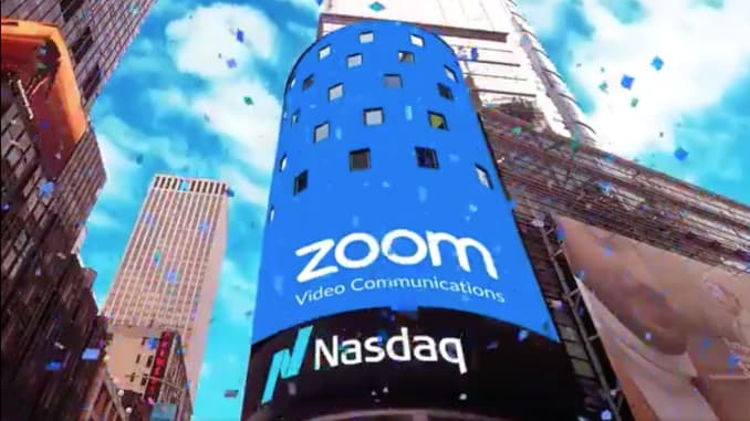 Zoom IPO: Stock begins trading on Nasdaq
