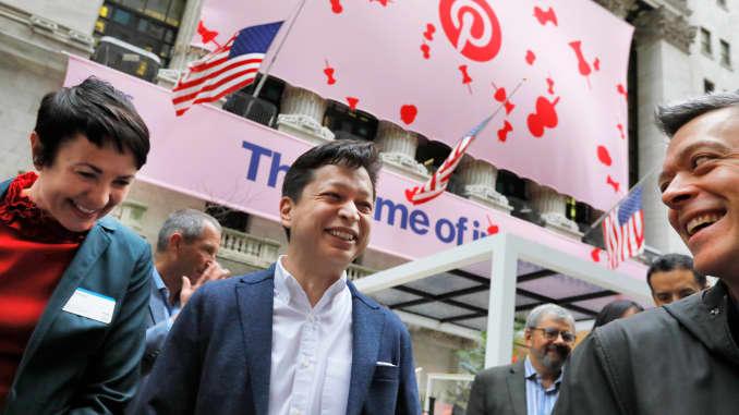 Pinterest IPO: Stock starts trading on the public market