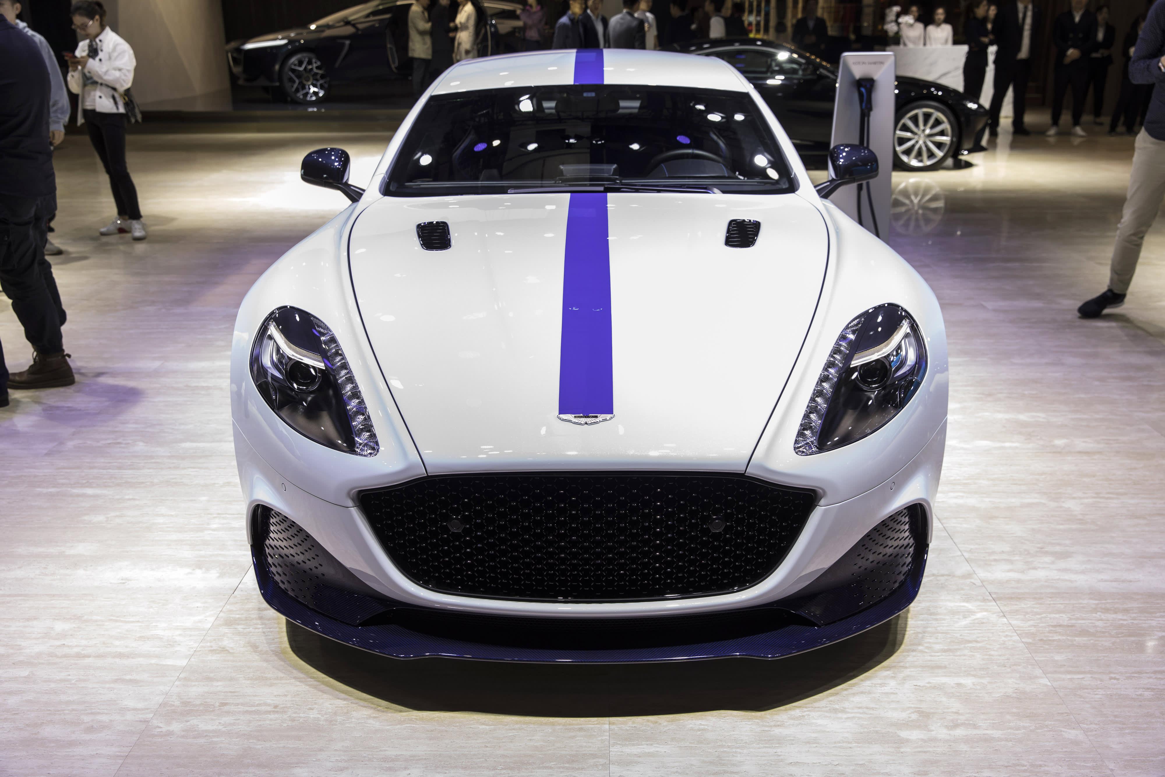 Photos Aston Martin Debuts Rapide E Its First Electric Car