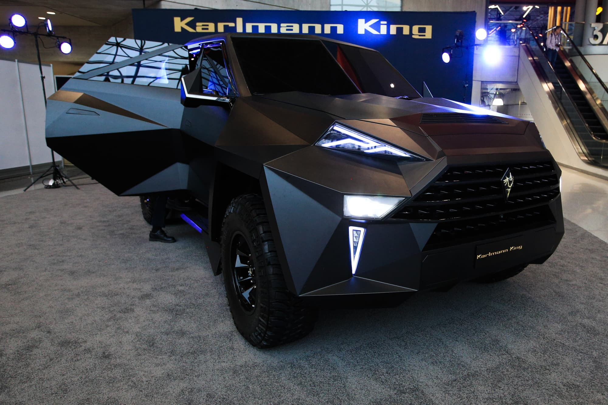Take a look at the most expensive SUV in the world: the $1.9 million Karlmann King